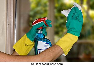 windows, 清掃