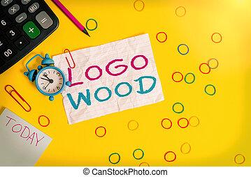 wood., 木頭, 鉛筆, 相片, 或者, 筆記, 符號, 帶子, 橡膠, 手, 背景。, 寫上, 公司, 顯示, 計算器, 警報, 標識語, 鐘, 可認識, 概念性, 寫, 正文, 上色, 事務, 設計