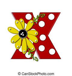 x, 希腊語的第一個字母, 向日葵, 葡萄樹